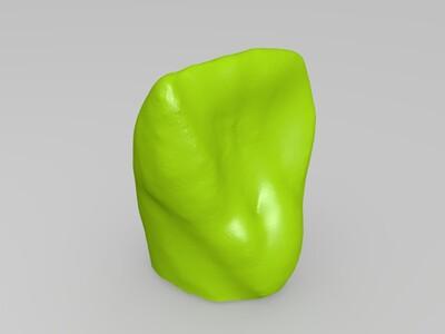 人体牙齿ct复刻-3d打印模型