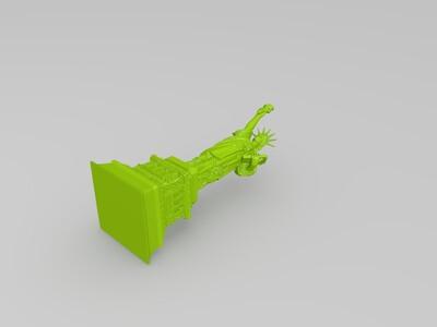 高清自由女神-3d打印模型