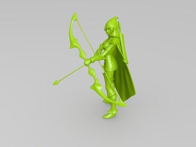 英雄联盟,寒冰-3d打印模型