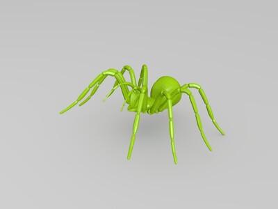 蜘蛛-3d打印模型