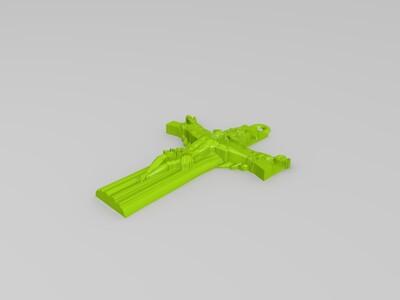 十字架耶稣挂件-3d打印模型