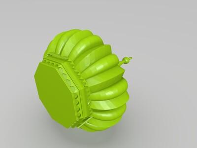 伊斯兰宝顶-3d打印模型