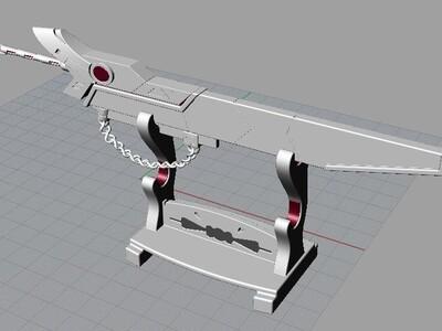 英雄联盟武器-3d打印模型
