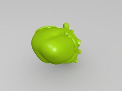 精品人体心脏模型-3d打印模型