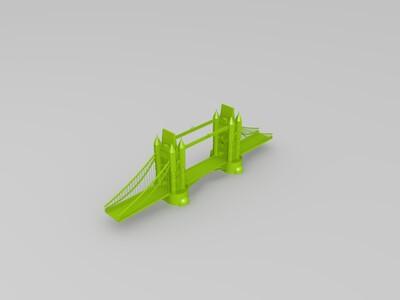伦敦塔桥-3d打印模型