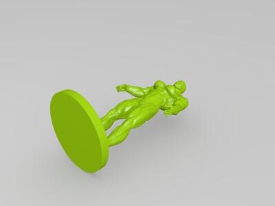 健美男-3d打印模型