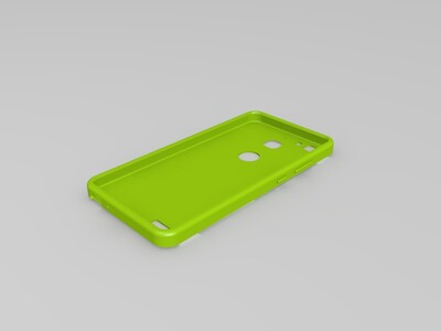 华为 畅享5S手机壳-3d打印模型