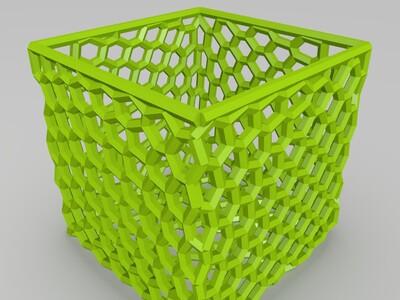 镂空盒子-3d打印模型