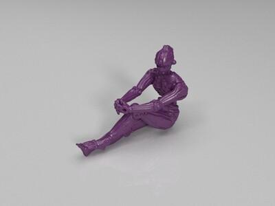 Female_Humanoid_Robot-3d打印模型