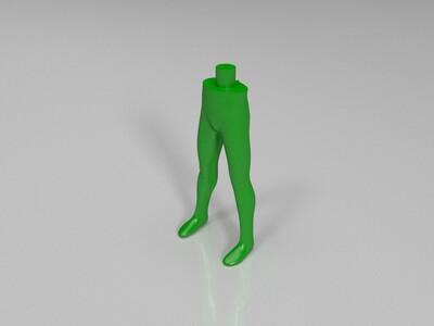 奥特六兄弟拆分打印之杰克-3d打印模型