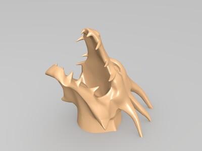 龙头饰品-3d打印模型