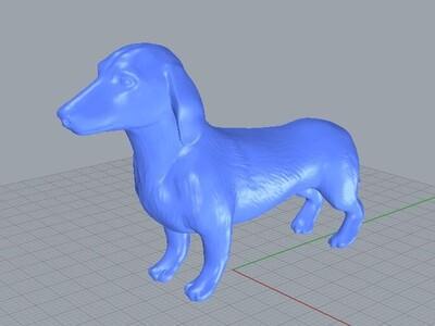 香肠狗-3d打印模型
