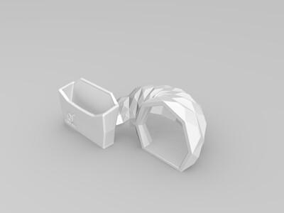 手机扬声器-3d打印模型