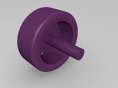 大众途锐-3d打印模型