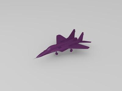 超强战斗机-3d打印模型