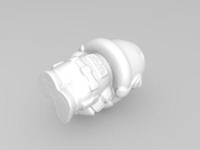 星球大战--暴风兵-3d打印模型