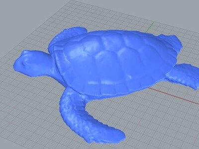 乌龟-3d打印模型