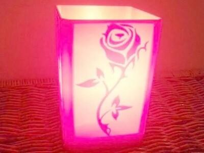 玫瑰灯罩-3d打印模型