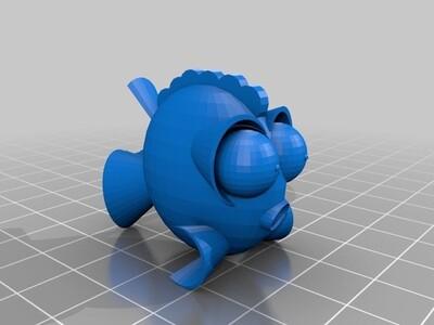叮叮鱼-3d打印模型