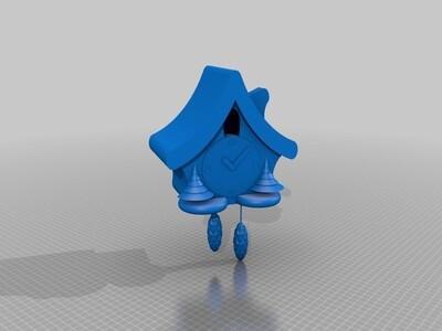 布谷鸟屋-3d打印模型