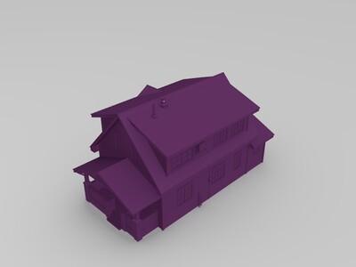 房子 二号-3d打印模型
