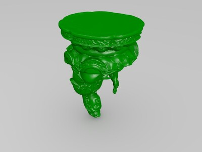 观音佛像-3d打印模型