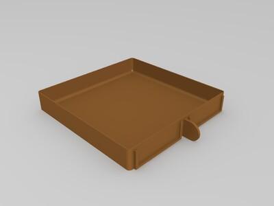 小型多收纳盒-3d打印模型