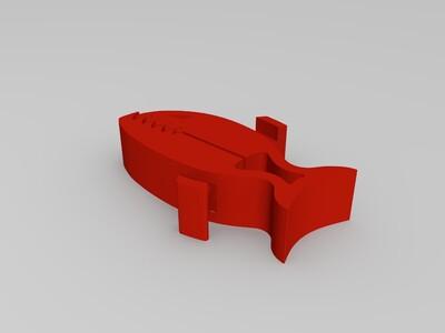 食人鱼夹子-3d打印模型