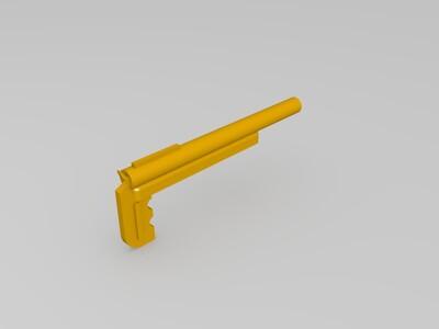 手枪-3d打印模型