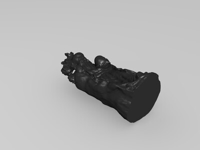 3D打印的雕花艺术盒子-3d打印模型