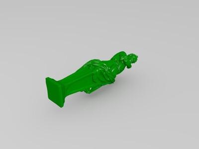 柏拉图雕塑-3d打印模型