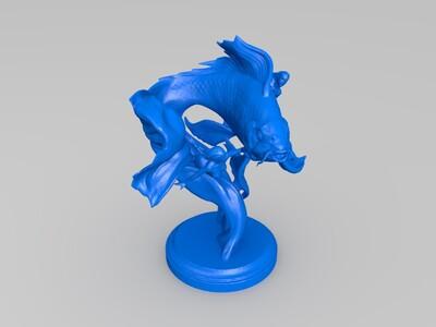 艺术摆件海洋之灵-3d打印模型