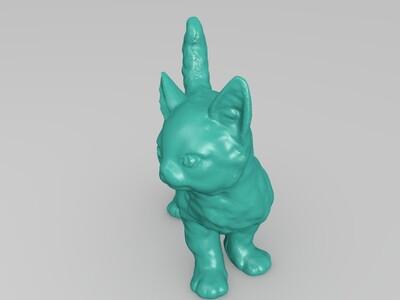 小猫咪-3d打印模型