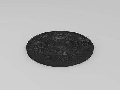 十二生肖-3d打印模型