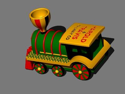 圣诞玩具车-3d打印模型