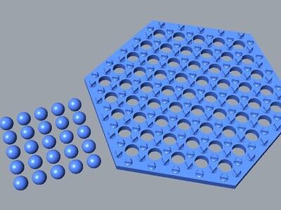 跳棋-3d打印模型