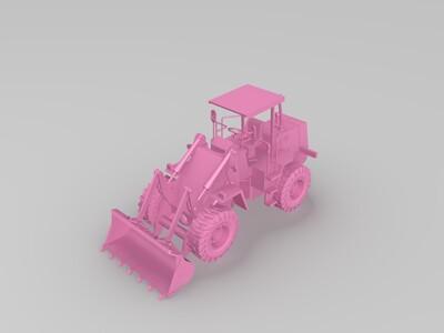 铲车-3d打印模型
