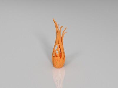 概念花瓶-3d打印模型
