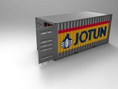 集装箱-3d打印模型