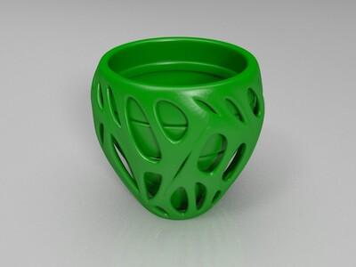 镂空花瓶02-3d打印模型