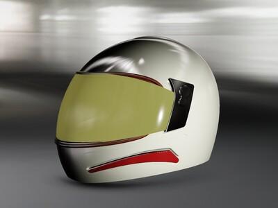 摩托车头盔-3d打印模型