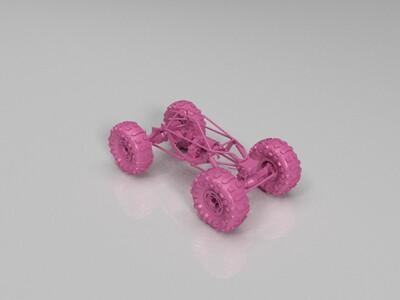 攀岩车-3d打印模型