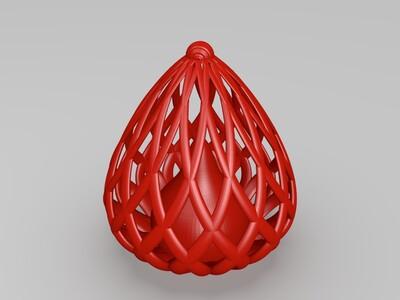 水晶灯罩-3d打印模型
