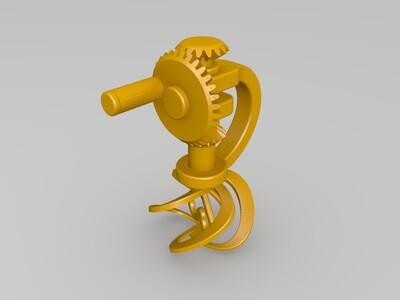 搅拌机-3d打印模型