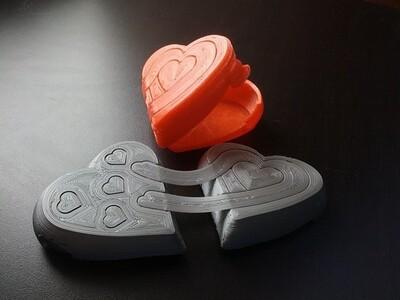 打开你的心-3d打印模型