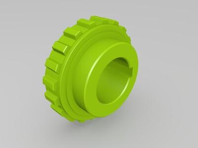 皮带轮合集-3d打印模型