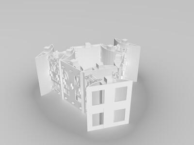 灯塔的光笼-3d打印模型