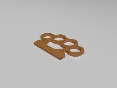 拉链袋扣-3d打印模型