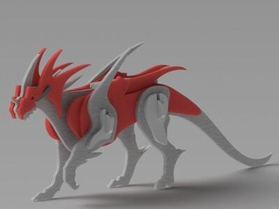 龙木雕-3d打印模型