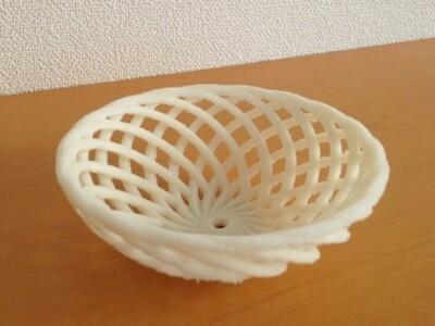 镂空水果碗-3d打印模型